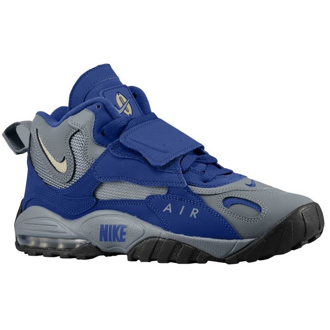 NIKE | Air Max Speed Turf Gri/Metallic Aurii/Albastru Regal/Albi | Adidasi Training Barbati | 87102-