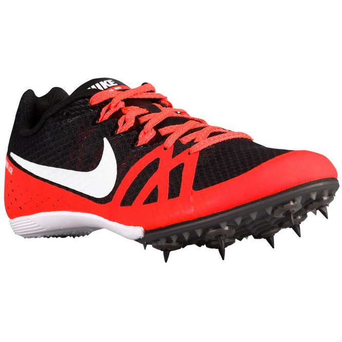 NIKE | Zoom Rival MD 8 Negrii/Albi/Rosii | Cuie Atletism Dama | 12719-937