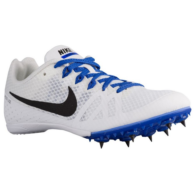 NIKE | Zoom Rival MD 8 Albi/Negrii/Albastri | Cuie Atletism Dama | 25732-285